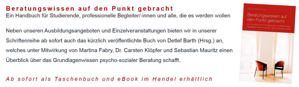 Handbuch für Beratung Dr. Detlef Barth